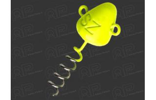 jaune Screw-In Head Tête plombée Svartzonker
